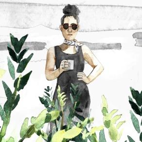Watching plants grow - Illustration - 2020